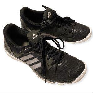 Adidas Adipure Running shoes non marking black 8